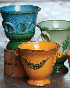 VIETRI Rustic Garden Collection-gorgeous Italian pottery