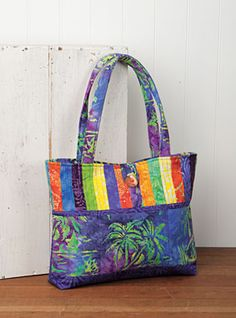 Brighten up your life with the new All About Anna Bag Pattern from Connecting Threads - Download now
