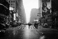 Snow in New-York