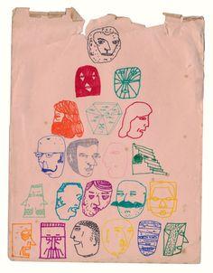delicatematter: Craig AtkinsonSpanische Tanze (2011)ink on paper