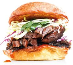 Try the BBQ brisket with cilantro slaw at P's & Q's Market Portland Restaurants, Portland Food, Bbq Brisket, Piece Of Bread, Best Sandwich, All I Ever Wanted, Pulled Pork, Places To Eat, Sandwiches