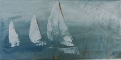 Sailing Pictures, Sailing Regatta, Nautical, Diy And Crafts, Astronauts, Etsy, Canvas, Photography, Painting