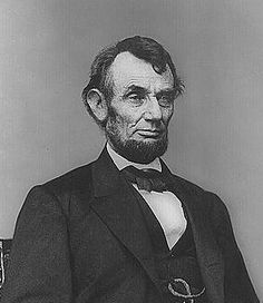 Abraham Lincoln-16th President of the U.S. Served as pres. during the Civil War.