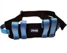 LiftAid Transfer amp; Walking Gait Belt w/ 6 Hand Grips Quick Release Buckle #LiftAid