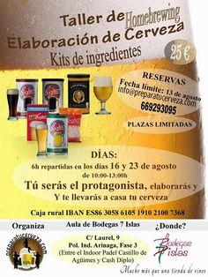 Pa' Las Birras: SORTEO de 2 entradas para el taller de elaboración...