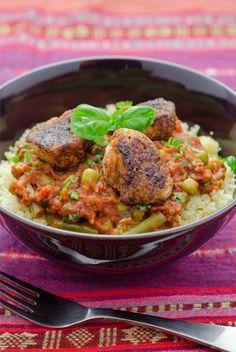 Schnelle Rezepte: Marokkanisches Huhn mit Couscous