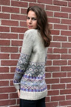 Velvet Morning by tanislavallee, via Ravelry. This is a beautiful colour combo...