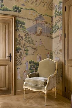 de Gournay // Wallpapers & Fabrics // Chinoiserie Collection #chinoiserie #wallpaper