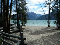 Outlet Campground is located next to beautiful Redfish Lake beneath the Sawtooth Mountain Range at an elevation of 6,500 feet.