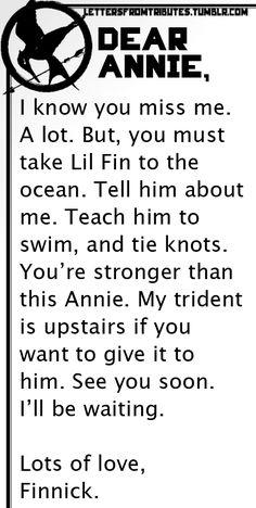 Finnik to Annie