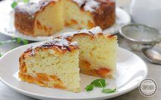 Ciasto jogurtowe z morelami - przepis - Tapenda.pl