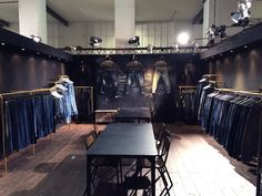 Desert Studio by Indigo Garments Workshop stand at Denim by PV May 2015…