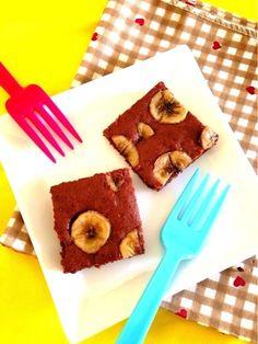 バナナとチョコが大好きな ぱぱのために前に作ったよ♪♪ 濃厚で美味しかった(ノ)^ω^(ヾ) - 72件のもぐもぐ - バナナブラウニー by madoleeeeine