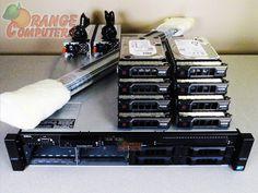Dell PowerEdge R510 Dual X5570 QC 2.93GHz 128GB 2x 300GB 6G 6x 2TB 6G 8 Bay