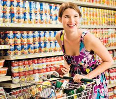 Smart tips to save money/time grocery shopping...and eat healthy on a budget!