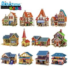 JIGSAW Free shipping 3D puzzle handmade diy wooden puzzle model ,jigsaw toys, Christmas , Free shipping