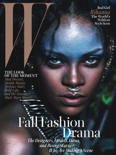 Rihanna for W !