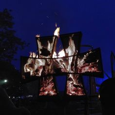 #hellfest #hellfest2016 #hell #fest #metal  #hard #hardrock #music  #extreme #france #clisson #amazing  #unforgettable #awesome #night #decoration #illumination #fire #nofilter #follow #followme
