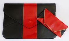 - Dream a Little Bigger Craft Blog - Striped Envelope Clutch DIY