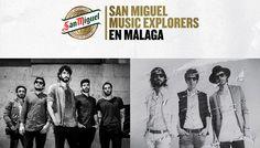 En Málaga 2 diciembre IZAL y Sidonie concierto Cervezas San Miguel Music Explorers Tour
