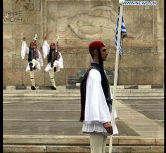 Presidential Guard, Προεδρική Φρουρά, Athens, Greek Guard, Evzones, Evzon Εύζωνες