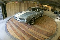 Awesome garage floor