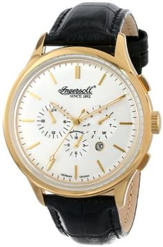 Men's Wrist Watches - Ingersoll Mens IN2815GSL Mackinac Analog Display Automatic Self Wind Black Watch -- For more information, visit image link. (This is an Amazon affiliate link)