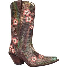 "#RD3564 Crush by Durango Women's Western Boots – 12"" Women's High-Heeled Leather Boots - Durango Boot Company"