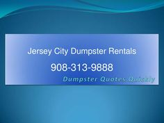 elizabeth-new-jersey-city-dumpster-waste-management-solution-at-cheap-cost by Fayej Khan via Slideshare