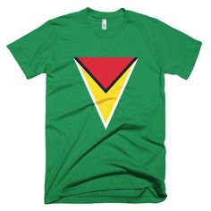 Guyana Hero Crest - Short sleeve men's t-shirt – Properttees