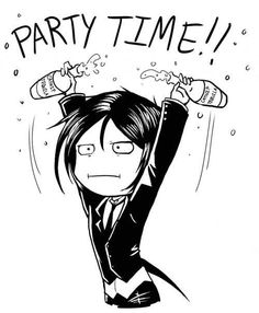 Party time with Sebastian~