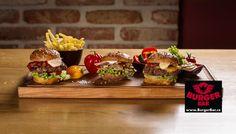 Degustační set 3 miniburgerů - ochutnávka tří různých miniburgerů z naší nabídky - chipotle, trhaný vepřový, cheeseburger