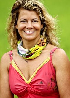Lisa Whelchel of the Facts of life TV show Survivor Facts Of Life Cast, Survivor Philippines, Survivor Tv Show, Survivor Contestants, Lisa Whelchel, The Tribe Has Spoken, Life Tv, Amazing Race, Famous Stars
