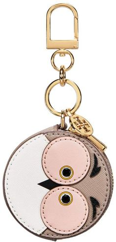 a35e8114844 Tory Burch Owl Coin Pouch Key Ring
