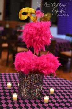 Masquerade Birthday Party Ideas | Photo 11 of 39 | Catch My Party