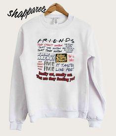 274cf91b1d0 pinnTee Friends TV Show Sweatshirt in 2019