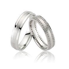 Verighete Aur Alb BT UNIVERSE ‐ Bijuteria Teilor Bangles, Bracelets, Universe, Wedding Rings, Engagement Rings, Manual, Stone, Infinity, Jewelry