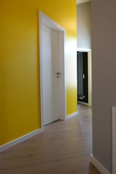 Benjamin Moore, Tall Cabinet Storage, Super, Furniture, Bright Yellow, Color, Home Decor, Yellow Walls, Enamel Paint