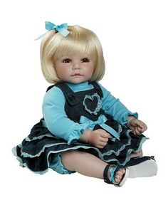 """Adora Dolls, ToddlerTime Babies, 20"""" Doll - Country Cutie, 20013027"""