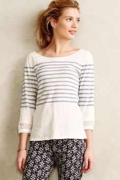 Shop the Ellene Chiffon-Trimmed Tee and more Anthropologie at Anthropologie today. Read customer reviews, discover product details and more.