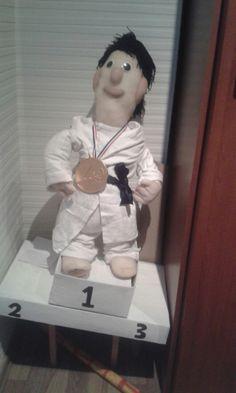 suprise gemaakt voor taekwondo/ judo fan