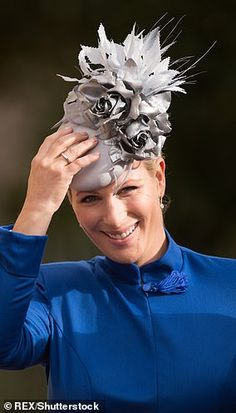 Zara Tindall was 37 when Lena was born in June Peter Phillips, Zara Phillips, Zara Hats, Suits Actress, Mike Tindall, Royal Tiaras, Prince Henry, House Of Windsor, Royal Style