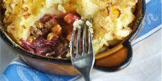 Boodschappen - Rodekool uit de oven met appel en walnoten