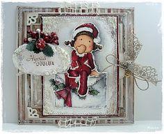Christmas Card mady by Mintun