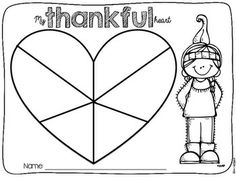 My thankful heart {English and Spanish} Thanksgiving Writing, Thanksgiving Preschool, Thanksgiving Ideas, Elementary Spanish, Elementary Schools, Classroom Fun, Classroom Activities, Coloring Pages For Kids, Kids Coloring