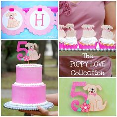 The PUPPY LOVE Collection  Custom Cupcake by maryhadalittleparty, $8.40