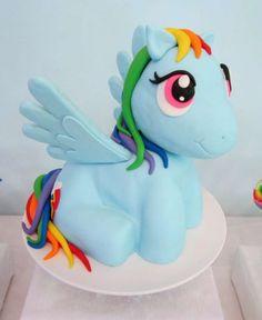 My Little Pony Party Cake | CatchMyParty.com
