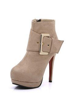 Ankle Boots by #OASAP.com Use o código TSVZB0AJ e GANHE MAIS 30% de DESCONTO! Válido até 31/12/2013