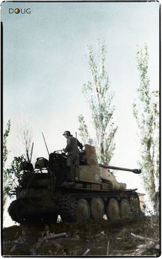 Marder III (Sd.Kfz.139) - 24.Pz.Div. - Southern sector of the Eastern front - Summer '42