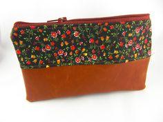 Taschenorganizer - pretty Täschchen Veganes Leder - ein Designerstück von prettybyreni bei DaWanda